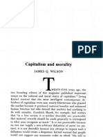 Capitalism and Morality