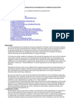 REDES DE EMPRESAS Y COOPERATIVAS AGRARIAS DE COMERCIALIZACIÓN