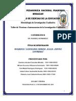 BIOGRAFIA MARINA Chavez Informe Final 4 Diciembre 2011
