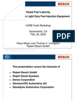 Bosch Wear Pump Fuel 1