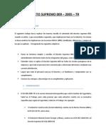 Decreto Supremo DS 009 Trabajo Final