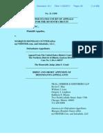 Flava Works vs. Myvidster, Marques Rondale Gunter, Salsa Indy, LLC. Appellant Brief by William J. Lenz for Appellants Marques Rondale Gunter and SalsaIndy LLC