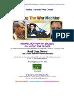 Michael Hoffman on Israels Talmudic War Crimes