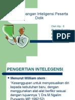 an Inteligensi Peserta Didik