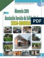 MEMORIA SERSO-HONDURAS 2010