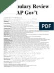 Vocabulary Review PDF Web