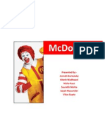 Mcdonalds Brand Management