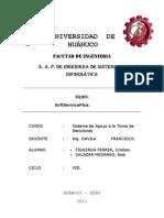 SISTEMA DE INFORMACION.