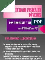ACTIVIDAD FÍSICA EN JÓVENES con anorexia y bulimia
