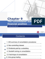 IFRS Chapter 9 the Consolidated Statement of Financial Positon