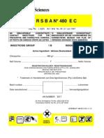 Dursban 480 Ec Label