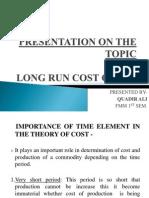 Long Run Cost Curve