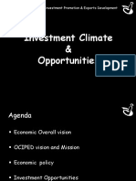 Investment Promotion Presentation OCIPED2010