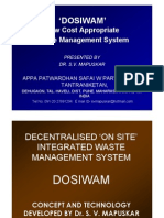 DOSIWAM system developed by Dr.S.V.Mapuskar.