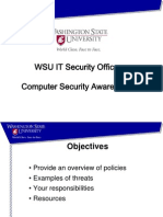 Computer Security Awareness Part 1