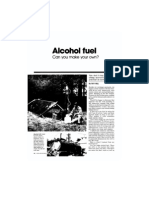 Alcohol Fuel (Making Your Own)