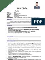Omer's CV