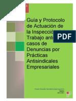 Guia y Protocolo de Actuacion Inspectiva ante casos de denuncias de Actos Antisindicales Empresariales Peru