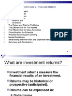 Risk-Return Corporate Finance