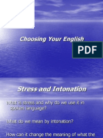 Choosing Your English