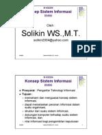 Dk 122 Konsep Sistem Informasi