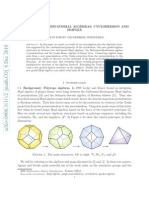 Stefan Forcey and Derriell Springfield- Geometric Combinatorial Algebras