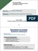 Architecture Des SE_V11V1