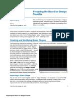 TU0110 Preparing the Board for Design Transfer
