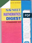 Navneet Maths Digest Std 8th