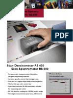 Scan Densitometer