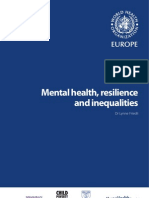 Mental Health, Resilience and Inequalities_E92227