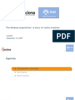 The Endesa Acquisition