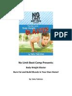 Body Weight Blaster eBook