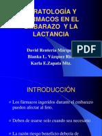 TERATOLOGÍA Y FÁRMACOS EN EL EMBARAZO