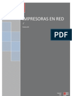 Impresoras en Red
