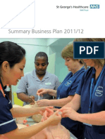 Summary Business Plan 2011 12