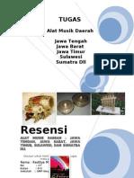 Alat Musik Daerah Jawa Tengah Jawa Barat Jawa Timur Sulawesi Dan Sumatra Dll