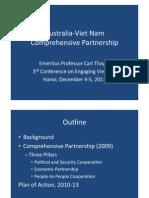 Thayer Australia Vietnam Comprehensive Partnership Power Point Slides