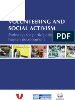 Volunteering and Social Activism