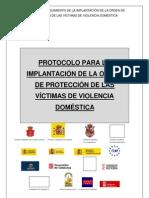 Protocolo Implantacion Orden Proteccion