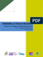 Gender Forum Dec Documentation