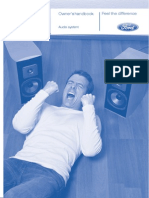 Audio Owners Handbook 02/2009