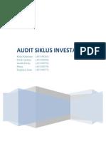 Audit-sifat Siklus Investasi