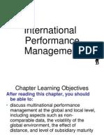 International Performance Management