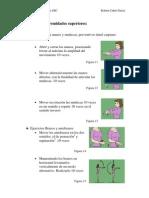 Ejercicios anaeróbicos de las extremidades Superiores