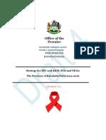 KZN HIV and AIDS STI and TB Provincial Strategic Plan