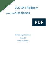 Trabajo de Redes y Comunicacion