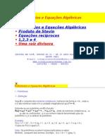 Polinomios e Equacoes Algebricas