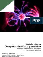 Computacion Fisica y Arduino