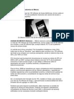 La telefonía móvil predomina en México